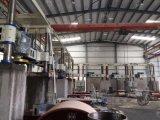 Yhqj-2500 cuatro cilindros Columna Máquina Arco de la losa losa de piedra del pórtico de corte