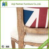 싼 나무로 되는 쌓을수 있는 식사 의자 대중음식점 의자 (Arlene)