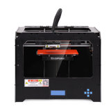 Impressora da elevada precisão 3D de Ecubmaker com grande tamanho 230*150*150mm da configuração