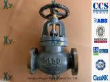 Válvula de globo marinha JIS do ferro de molde F7309 F7377 16k