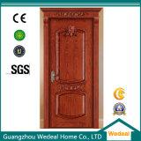 Porte de luxe à extrémité élevé en bois solide (WDB02)