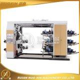 6 machine d'impression tissée de Flexo de couleur par PE/PP/Paper/Non