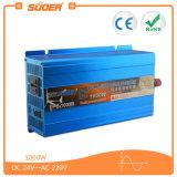 Suoer 고품질 1000W 24V 순수한 사인 파동 태양 에너지 변환장치 (FPC-1000B)