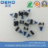 Interruptor de pulsador de la restauración de 3 Pin