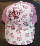 모자 아기 모자 아이들 모자가 면에 의하여 농담을 한다