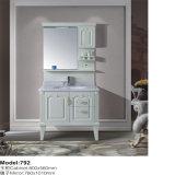 Пол - установленный шкаф PVC более сильный белый