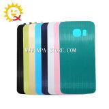 S6 가장자리 후방 Samsung를 위한 유리제 건전지 덮개