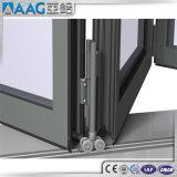 Aluminiumlegierung-Falz-Tür mit Bescheinigung As2047