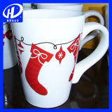 De Ceramische Mokken van uitstekende kwaliteit van Kerstmis met het Ontwerp van de Kerstman