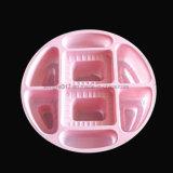 Runder rosafarbener Süßigkeit-Kasten-Blasen-Kasten