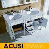 アメリカの現代様式のカシ木浴室の虚栄心の浴室用キャビネットの浴室の家具(ACS1-W03)