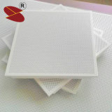 Dekorative quadratische weiße falsche verschobene Innenaluminiumdecke