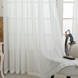 Cortina completa contínua de linho do algodão da sala de visitas