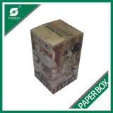 フルートの印刷のボール紙のびんの包装ボックス(FP0200089)