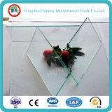 tipo vidrio del vidrio plano de 4m m de flotador del claro con el SGS de la ISO