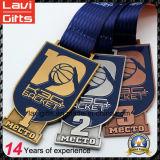 Баскетбол промотирования дешевый участвуя в гонке медаль спорта пожалования с логосом