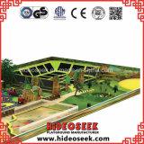 Разрешение спортивной площадки темы джунглей чудесное огромное крытое