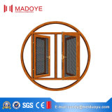 Finestra della stoffa per tendine di colore personalizzata apertura esterna di alluminio del blocco per grafici