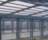 Tettoia veloce della struttura d'acciaio del pollame di alta qualità della costruzione, struttura d'acciaio di Prefabrciated
