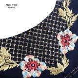 Платье печати черноты женщин Miss Вы Ailinna 470133 макси
