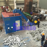 Imprensa de ladrilhagem de alumínio de Turnings para recicl (fábrica)