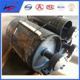 Polea principal y de la cola del cargamento de la polea pesada del transportador de la polea del tambor
