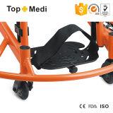 Sillón de ruedas manual ultraligero del protector del baloncesto del entrenamiento del deporte del polvo de la Opcional-Anchura de aluminio de la capa