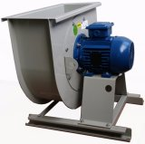 Ventilateur centrifuge de refroidissement d'échappement de ventilation d'acier en arrière industriel (450mm)