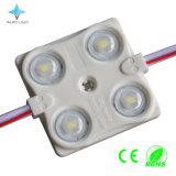 O diodo emissor de luz ilumina o costume 1.44W dos sinais com a lente para ao ar livre