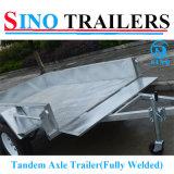 Top Sales Tandem Axle Box Trailer