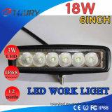 Luz de inundación auto del proyector de la luz del trabajo del LED 4WD IP68 campo a través 18W