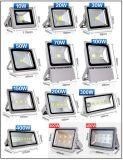 10W 20W 30W 50Wの屋外の軽い穂軸LEDの洪水ライト50W