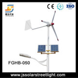 8m 60W LED Soalr Wind-hybride Straßenlaterne2016