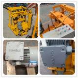 Máquina concreta manual móvel hidráulica do bloco da colocação de ovo