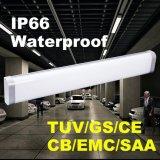lámpara ligera impermeable de la Tri-Prueba LED de los 4FT IP66 LED (50W)