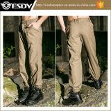 Pantalones militares del cargo de los hombres de los deportes al aire libre que espesan los pantalones tácticos de la ciudad