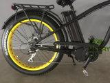 [هي بوور] كهربائيّة سمين إطار العجلة دراجة مع [دريف موتور] منتصفة