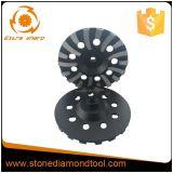 Roda de moedura concreta do copo do diamante do segmento da ferramenta de Murat