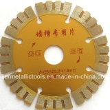 Сваренное лезвие алмазной пилы для конкретного, конкретного диска вырезывания