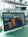 42インチのオールインワンパソコンを(人間の特徴をもつ)広告する赤外線タッチ画面ネットワーク