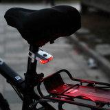 Precio barato super brillante luz LED rojo de la bici