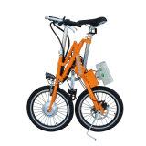 Bicicleta plegable de la aleación de aluminio de 18 pulgadas/bici eléctrica de la batería de la bicicleta/de litio/bici plegable fácil