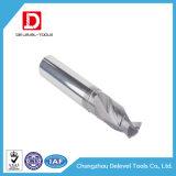 Flöte-Bohrmeißel des CNC-festes Karbid-gerader Schaft-2 für Stahl