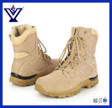 Провентилируйте ботинки высокого боя тактические воинские Hiking напольные ботинки (SYSG-052)