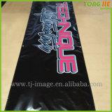 Bandiera su ordinazione del vinile del PVC con gli occhielli e la corda