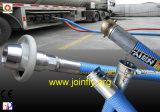 Jkl350c super dünne lange große Öffnungs-quetschverbindenmaschine für ultra grossen Doppelt-Krümmer und verformten Schlauch/Rohr/Flansch