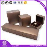 Профессиональные изготовленный на заказ ювелирные изделия оптовой продажи коробки ювелирных изделий 2016 кладут бумажный упаковывать в коробку коробки подарка ювелирных изделий