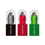차 충전기와 최고 속도 충전기 USB 플러그