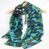Sciarpa militare di colore di modo, scialli di stampa della ragazza, scialli delle donne dell'accessorio di modo
