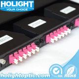 Tableau de connexions de fibre optique de MPO ou de MTP